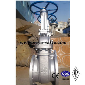 "Wedge Carbon Steel Wcb Gate Valve 150lb 14"" pictures & photos"
