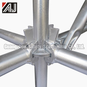 Galvanized Steel Wedge Lock Scaffold System, Guangzhou Manufacturer pictures & photos