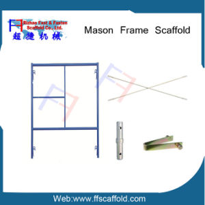 Frame Scaffold Steel Manson Frame Scaffolding pictures & photos