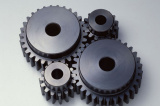 High Quality Motorcycle Sprocket/Gear/Bevel Gear/Transmission Shaft/Mechanical Gear122 pictures & photos