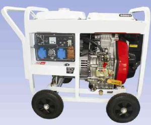 Air Cooled Diesel Welding Generator 50Hz (ADP6500EW)