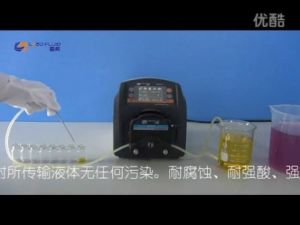 BT301F Intelligent Dispensing Peristaltic Pump for Water Treatment pictures & photos