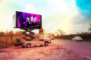 Outdoor P10 Full Color LED Screen on Trailer pictures & photos