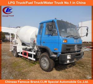 4X2 3cbm-4cbm Mini Cement Mixer Dongfeng Concrete Mixer Truck pictures & photos