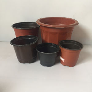Double Color Plastic Flower Pot Making Machine pictures & photos