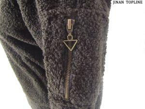 Women Fake Fur Faux Fur Heated Jacket pictures & photos