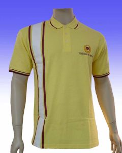 Yellow Fashion Golf Shirt pictures & photos