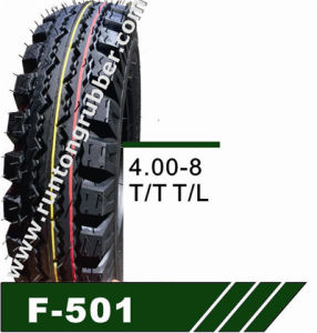 Mrf Pattern Three Wheeler Tyre 4.00-8 4.50-10 pictures & photos