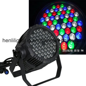Outdoor 54PCS LED Stage Lighting LED PAR (HL-012) pictures & photos