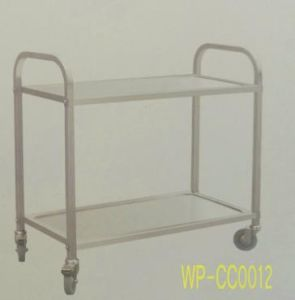 Stainless Steel Food Serving Trollery/ Cart, in Dining Room, Hotel, Restaurant pictures & photos