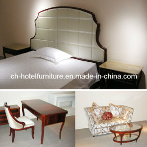 2014 Kingsize Luxury Chinese Wooden Restaurant Hotel Bedroom Furniture (GLB-70008) pictures & photos