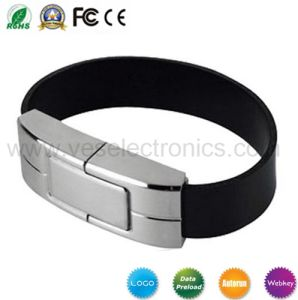 Leather Bracelet Custom USB Drives Promotional Gifts pictures & photos