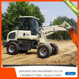 Mini Loader Small Wheel Loader with Big Big Cabin pictures & photos