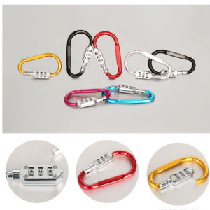 Hook Shaped Mini Resettable Combination Lock / High Security Password Lock pictures & photos