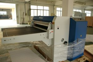 Automatic Fusing Machine /Heat Press Machine/Hot Press Machine Working Width 600mm pictures & photos