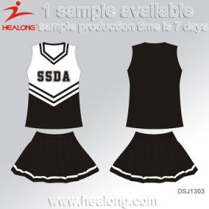 Healong Custom UV-Protection Full Dye Sublimation Cheerleading Jerseys pictures & photos