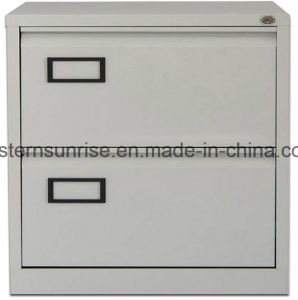 Vertical Two Drawer Storage Metal Steel Iron Filing Cabinet pictures & photos