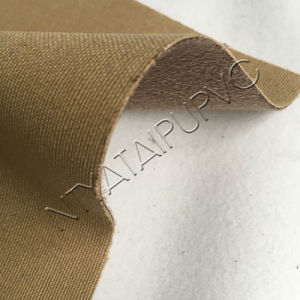All Kinds of Pattern Design Fabric Material PVC Leather for Shoe Upper pictures & photos