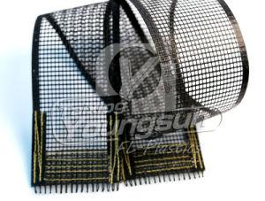 High Temperature PTFE Open Mesh Fiberglass Cloth pictures & photos