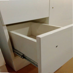 MDF White Paintting Bathroom Cabinet Vanity a-75 pictures & photos