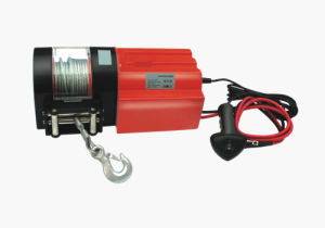 Electric Winch 4500lbs DC12V with CE Certificate (LD-4500K) pictures & photos