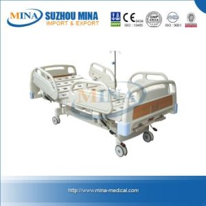 Luxurious Hospital Bed with Double Revolving Levers (MINA-MB104)