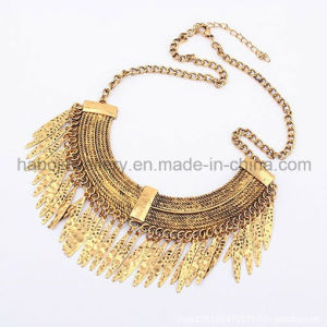Indian Style Gold Plated Charm Pendant Necklace (XJW12174) pictures & photos