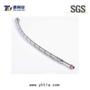 Stainless Steel 304 Long Male Flexible Braided Hose (L1005-B)