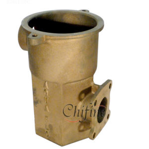Pump Cover in Bronze Casting by Sand Casting pictures & photos