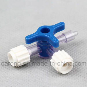 Medical Disposable Three Way Stopcock with Ce, ISO Approved pictures & photos