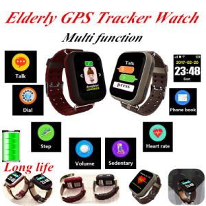 2017 Newest Product Elderly Smart Watch with Sos Button (D28) pictures & photos