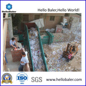 Waste Paper Cardboard Automatic Baling Press with CE Certificate Hsa4-7 pictures & photos