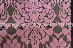 Cotton and Nylon Lace pictures & photos