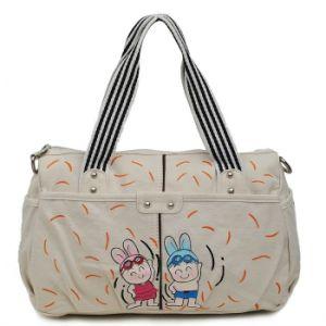 Women Mix Colour Soft Design Cotton Fabric Handbag pictures & photos