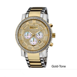 2013 Alloy Quartz Watch, King Shape Gold Watch (RD-N0014)