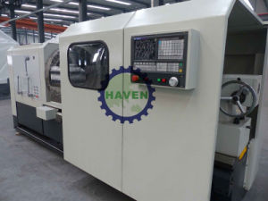 QK1332 CNC pipe thread lathe machine with CE standard pictures & photos