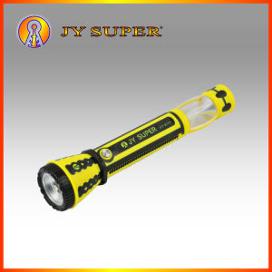 Jysuper 1W New LED Rechargeable LED Flashlight Torch for Outdoor (JY-3777)