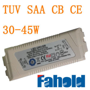 30-45W No Stroboflash LED Transformer with TUV SAA CB CE