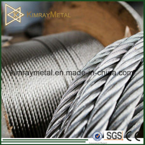 7X7 Galvanized / Stainless Steel Wire Rope pictures & photos