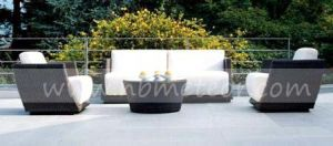 Wicker Outdoor Furniture Sofa Set PE Rattan Sofa (MTC-287) pictures & photos