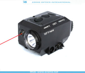 New Compact Square Red Laser Sight and Strobe LED Flashlight Combo (ES-MN-L2R) pictures & photos