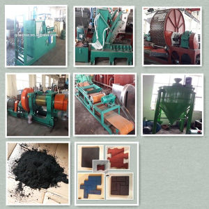 Automatic Tire Recycling Plant/ Tyre Shredder pictures & photos