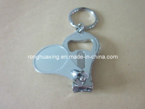 Medium Nail Clipper with Key Holders and Bottle Opener N-618BV pictures & photos