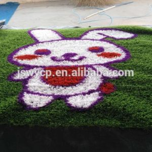 Ce/SGS Approved Good Quality Artificial Turf for Kindergarten with Cartoon Pattern pictures & photos