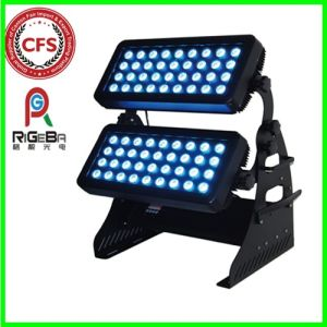 Outdoor Stage High Power 72LEDs 8W RGBW 4in1 LED Wall Washer City Color Light pictures & photos