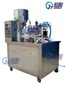 Semi-Auto Tube Filling and Sealing Machine pictures & photos