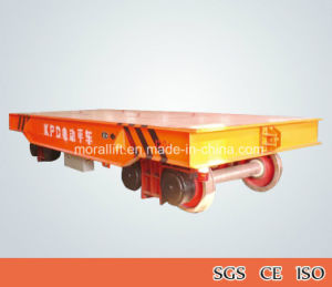 Electrical Rail Transfer Cart for Heavy Transport pictures & photos
