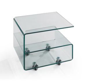 Transparent Color Tea Table for Living Room (TB-330) pictures & photos