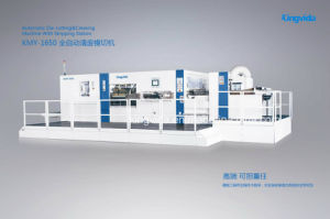 Automatic Die Cutting&Creasing Machine with Stripper (KMY1650)