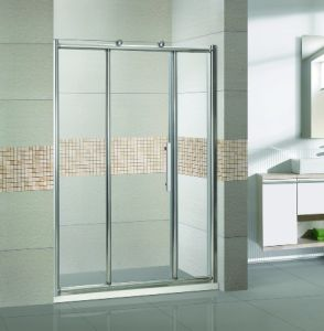 Project Sliding Stainless Steel 304 Frame Shower Enclosure (JC02) pictures & photos